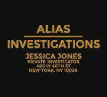 'Alias Investigations' Jessica Jones Inspired Print by Sian Kjellberg