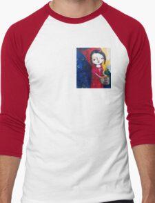 """""""Red"""" Men's Baseball ¾ T-Shirt"""