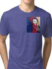"""Red"" Tri-blend T-Shirt"