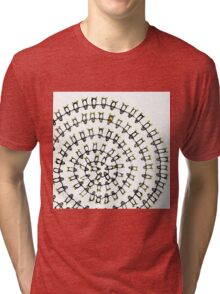 Penguins Spiral Tri-blend T-Shirt