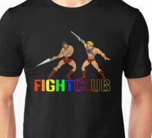 Filmation Fight Club: Blackstar vs He-Man Unisex T-Shirt