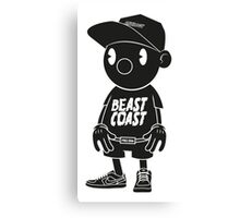 beast coast 3 Canvas Print