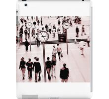 Time and Motion iPad Case/Skin