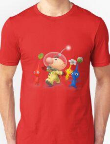 captain olimar and pikmin super smash bros T-Shirt