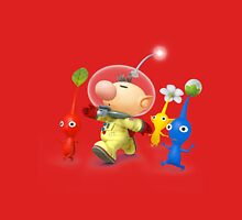 captain olimar and pikmin super smash bros T-Shirt