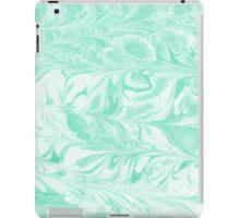 Umeko - spilled ink marble paper marbling art painting abstract swirl water ocean landscape map iPad Case/Skin