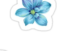 Blue Boho Tumblr Sticker