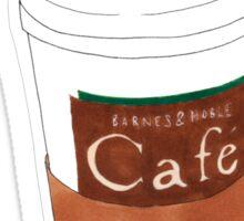 we serve coffeeeee Sticker