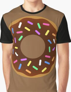 Chocolate Clipart Candy Food Graphic T-Shirt