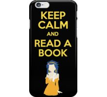 Keep calm and Read iPhone Case/Skin