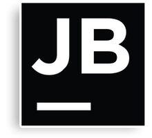 Jetbrains logo Canvas Print