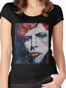 An Impression Women's Fitted Scoop T-Shirt