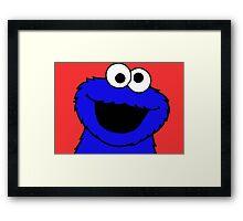 Cookie Monster Framed Print