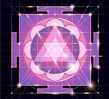 Ganapati Yantra - cosmic conductor of energy. Yantra Sree Ganesha. Sacred Geometry by OlgaBerlet