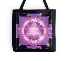 Ganapati Yantra - cosmic conductor of energy. Yantra Sree Ganesha. Sacred Geometry Tote Bag