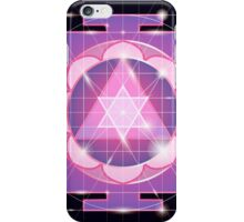 Ganapati Yantra - cosmic conductor of energy. Yantra Sree Ganesha. Sacred Geometry iPhone Case/Skin