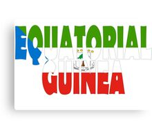 Equatorial Guinea Canvas Print