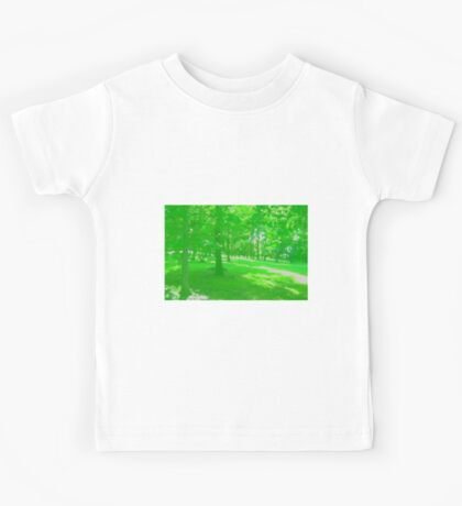 What is Making the Green Trees Cry? Kids Tee