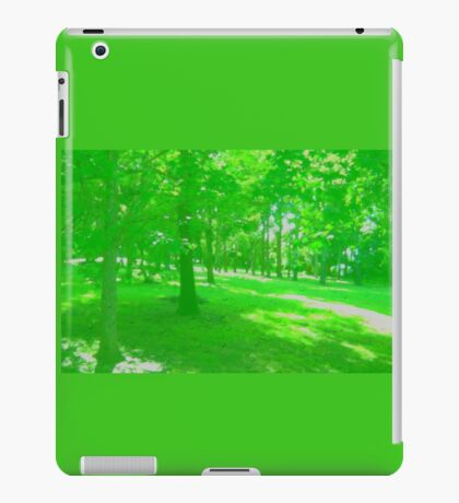 What is Making the Green Trees Cry? iPad Case/Skin