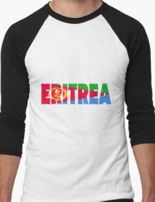 Eritrea Men's Baseball ¾ T-Shirt
