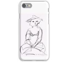 La Dame de Jadis iPhone Case/Skin