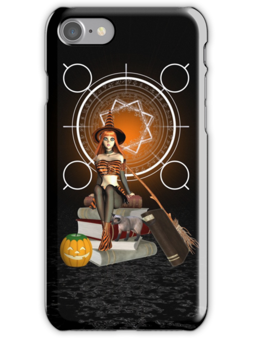 The Witch .. iphone case by LoneAngel