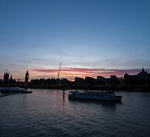 London Skyline #2 by callum collins