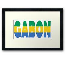 Gabon Framed Print