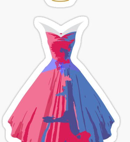 Make it Pink! Make It Blue! Sticker