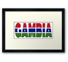 Gambia Framed Print
