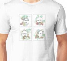 1916 commemorative print: 16 leaders 1-4 SQUARE Unisex T-Shirt
