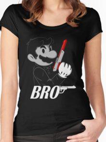 BRO Women's Fitted Scoop T-Shirt