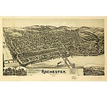 Rochester, Pennsylvania (1900) Photographic Print