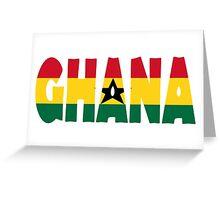 Ghana Greeting Card