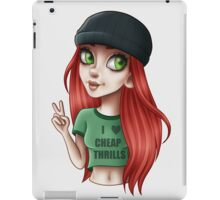 CHEAP THRILLS iPad Case/Skin