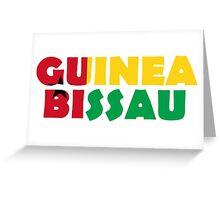 Guinea Bissau Greeting Card