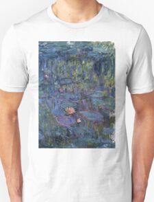 Claude Monet - Nympheas (1914 - 1917) T-Shirt