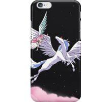 Pegasus winged unicorn - sailor cartoon iPhone Case/Skin