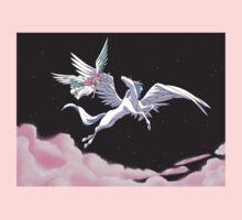 Pegasus winged unicorn - sailor cartoon Baby Tee