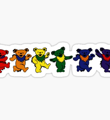 Grateful Dead Dancing Bears Sticker