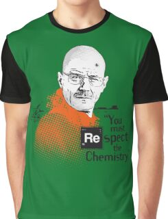 """You Must Respect The Chemistry!"" Graphic T-Shirt"
