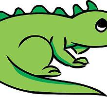 Little Green Lizard by ShanWherry