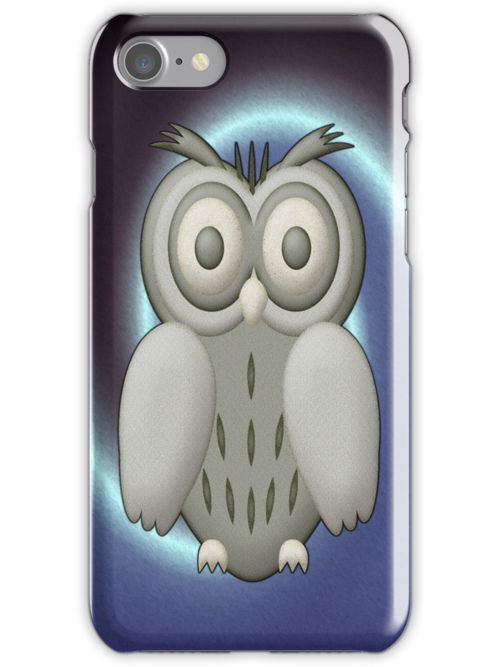 WHO .. WHO .. ME .. ME .. iphone case by LoneAngel