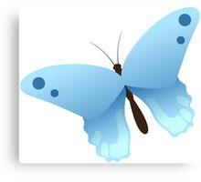 Cute cartoon butterfly Canvas Print