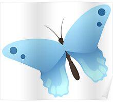 Cute cartoon butterfly Poster