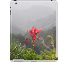 A flower with a view iPad Case/Skin