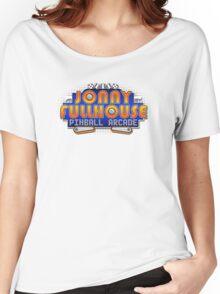 The World Famous Jonny Fullhouse Pinball Arcade Women's Relaxed Fit T-Shirt