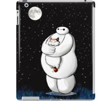 baymax night moon sky iPad Case/Skin