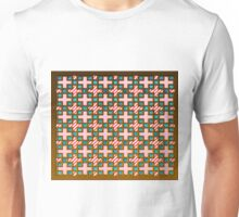 Artist patchwork style  symbol more Unisex T-Shirt