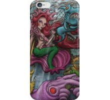 WARRIOR QUEEN OF THE SEA iPhone Case/Skin